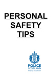 personal safety booklet